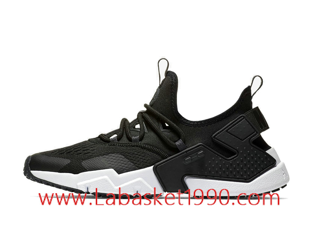 big sale 2f33c e3ea6 Nike Air Huarache Drift Breathe AO1133-002 Chaussures Officiel Prix Pas  Cher Pour Homme Noir ...