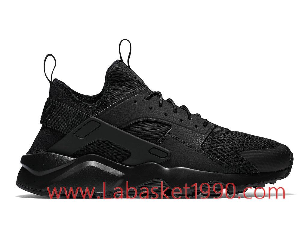 Nike Air Huarache Run Ultra Breathe 833147_001 Chaussures Nike Prix Pas Cher Poru Homme Noir ...