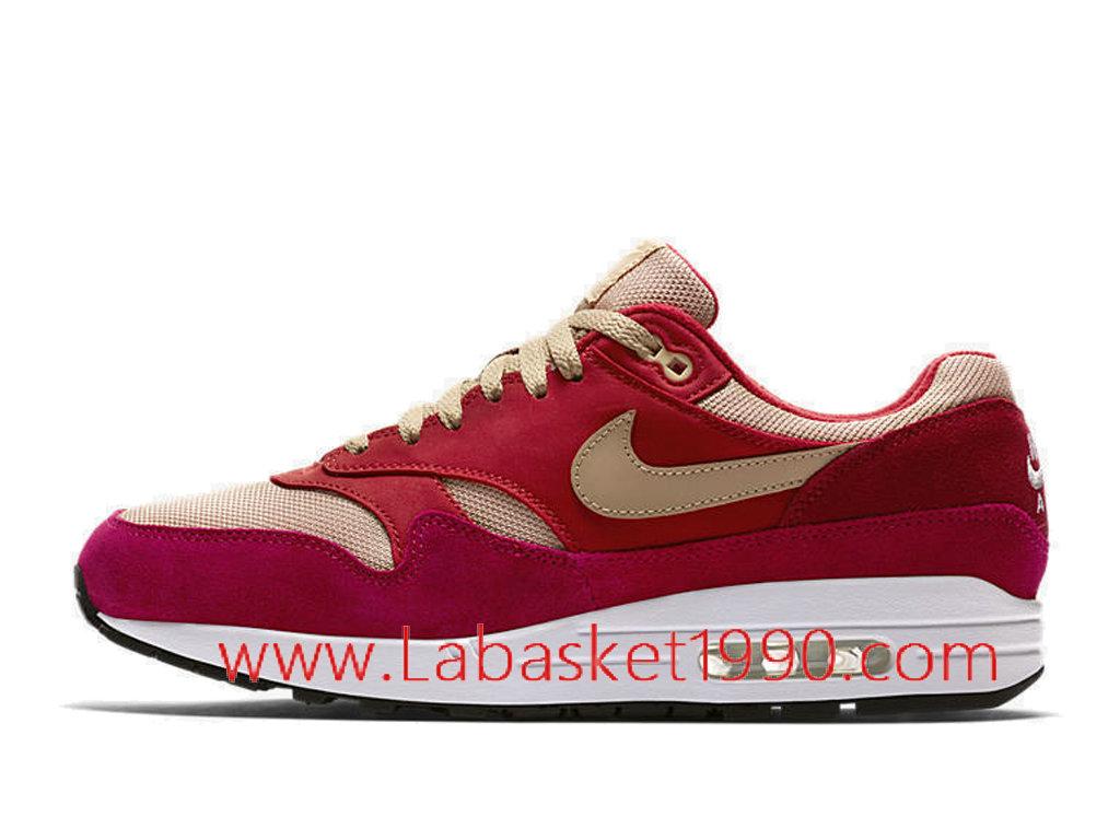 ... Nike Air Max 1 Premium Retro 908366-600 Chaussures Officiel Store Pas Cher Pour Homme ...