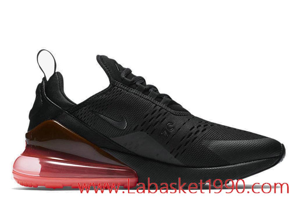 ... 8e56d fa238 Nike Air Max 270 QS Black Hot Punch Chaussures Nike Prix  Pas Cher Pour ... 87a446910df2