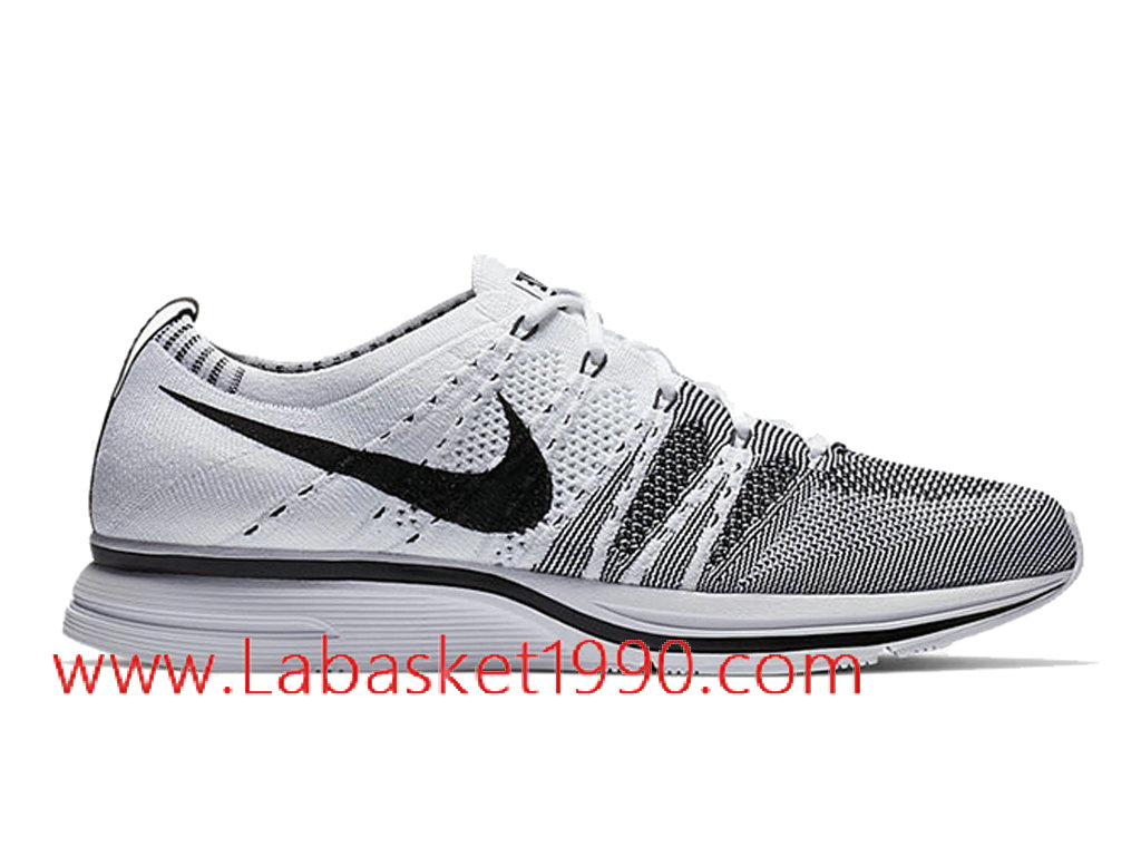 Nike Flyknit Trainer AH8396-100 Chaussures Nike Running Pas CHer Pour Homme Noir Blanc ...