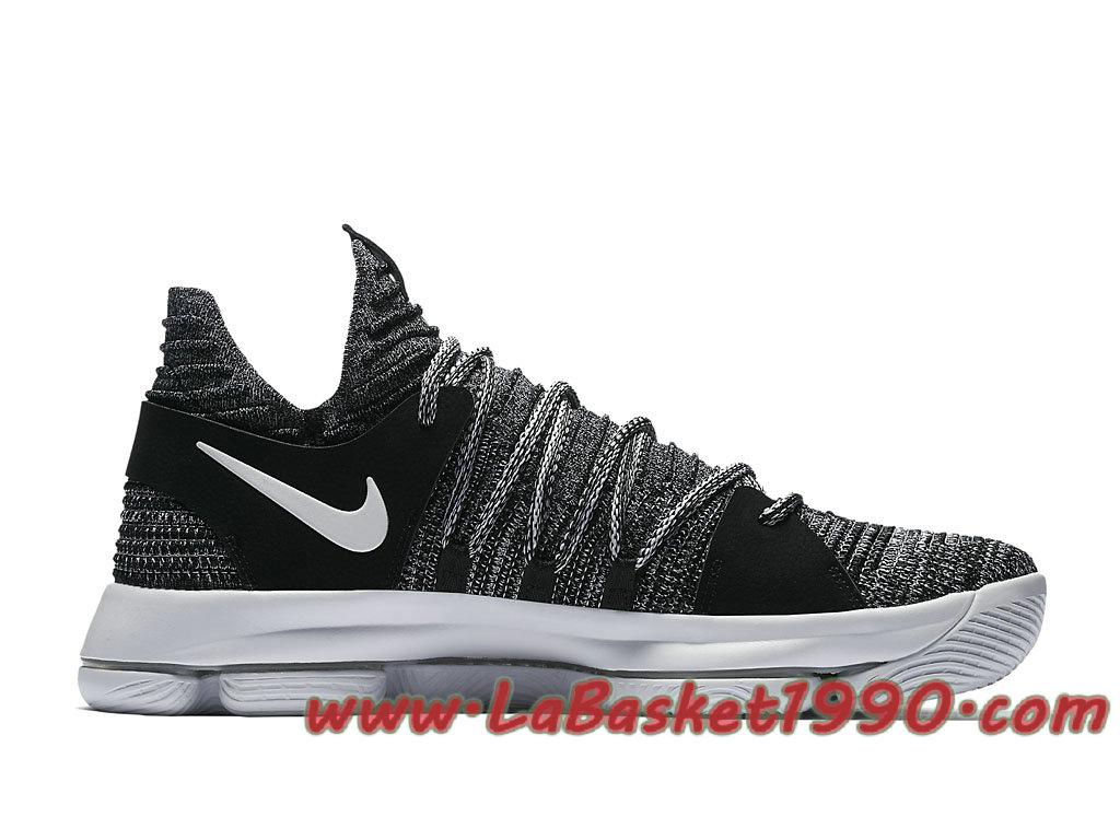 shop super cute nice shoes Nike KD 10 Oreo 897815-001 Chaussures Nike Basket Pas Cher Pour ...