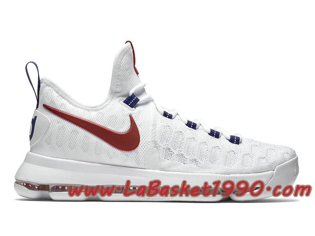Nike KD 9 USA 843392 160 Chaussures Nike Basket Pas Cher