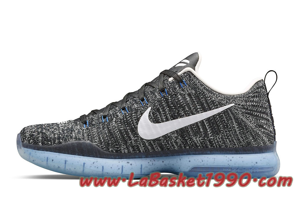 huge sale cb419 921d9 ... italy nike kobe 10 elite low shark jaw 805937 101 chaussures nike  basket pas cher pour