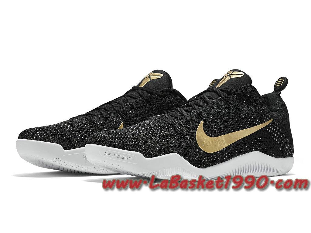 size 40 a6da1 a778a ... Nike Kobe 11 Elite GCR 885869-070 Chaussures Noir Basket Pas Cher Pour  Homme Noir ...
