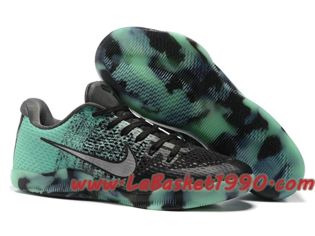 hot sale online 8c6c2 83a79 ... hot nike kobe 11 gs chaussures nike basket pas cher pour femme noir vert  c7e6e 919d5