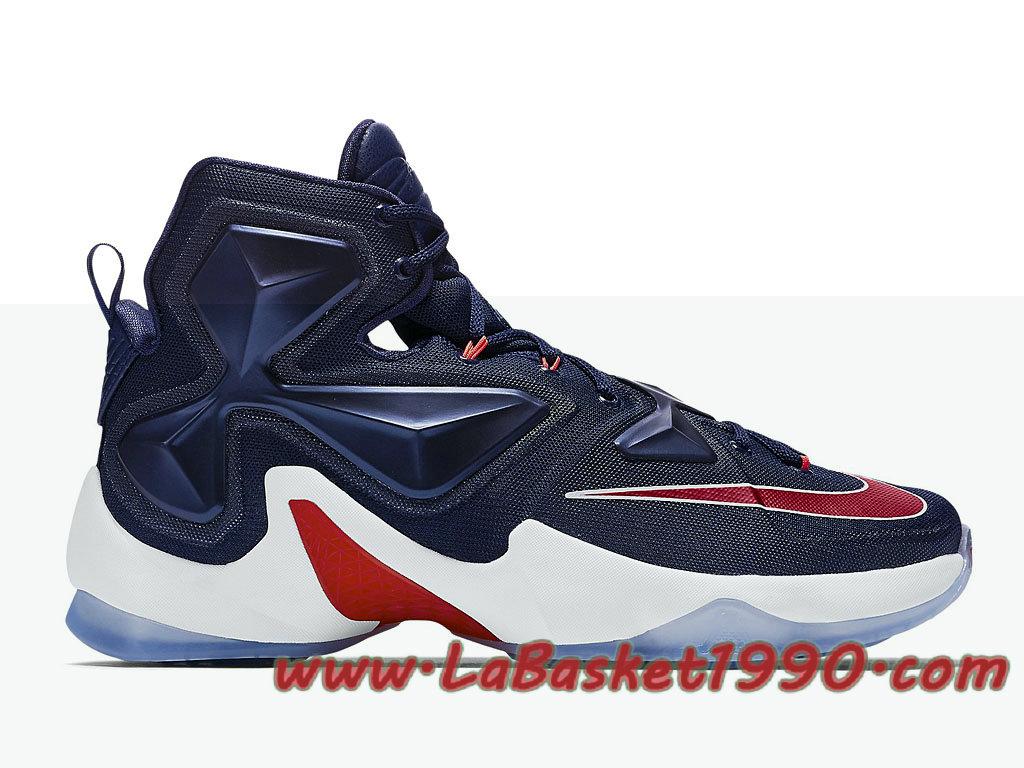 Nike Lebron 13 PE USA 807220 461 Chaussures Nike Prix Pas