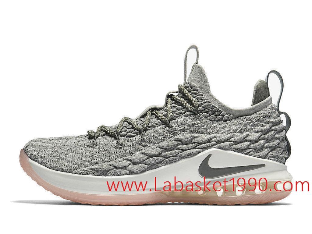 Nike LeBron 15 Low Light Bone Dark Stucco Chaussures Nike