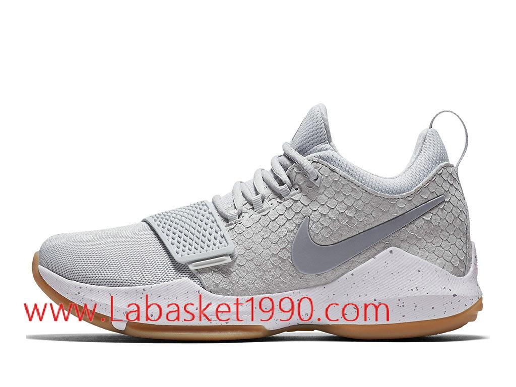 Nike PG 1 Pure Platinum Chaussures de Prix Pas Cher Pour
