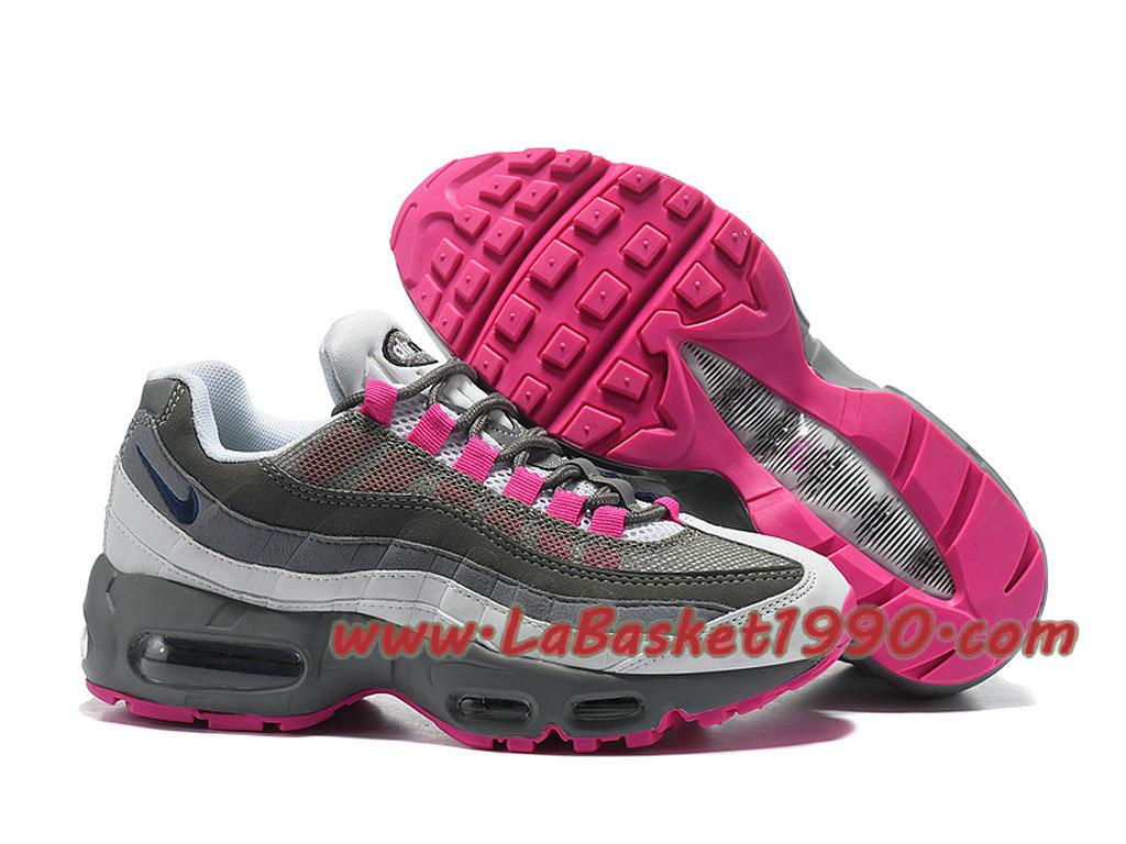 prix compétitif ab52e 997ac Nike Wmns Air Max 95 ID GS Chaussures Nike 2018 Pas Cher Pour Femme/Enfant  Gris Rose 307960_ID004-1804011314-Chaussure Basket Homme Nike | Nike ...
