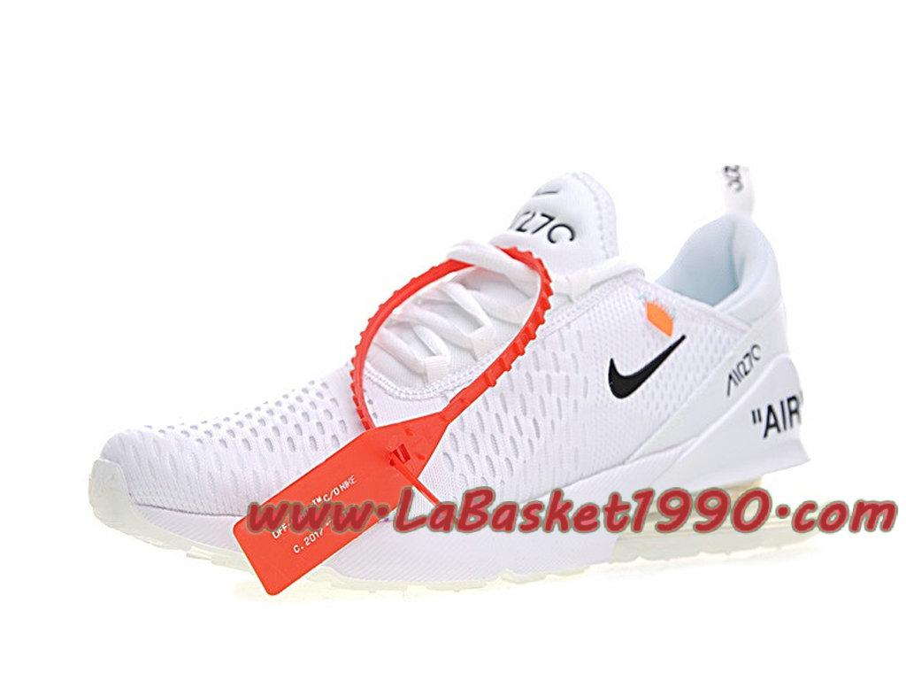 Officiel Off White Nike Air Max 270 BlancNoir Chaussure