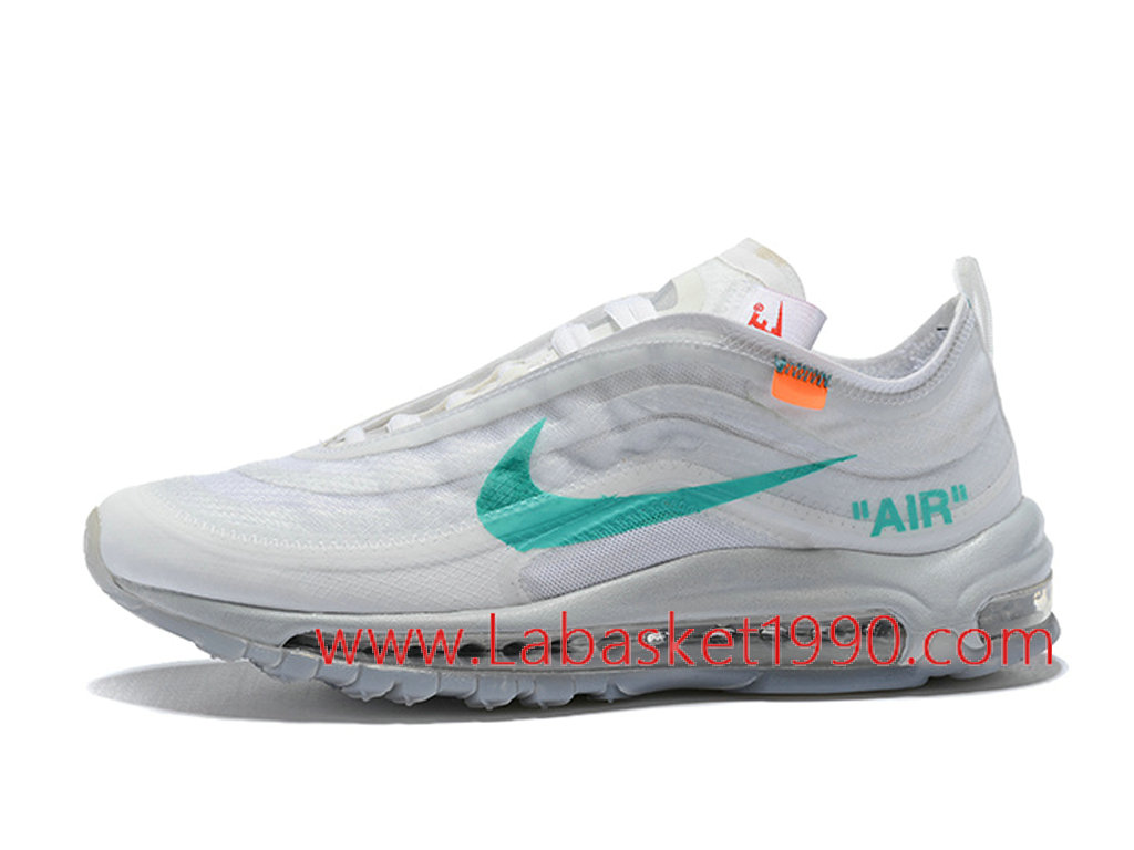 Off White x Nike Air Max 97 Chaussures Officiel 2018 Pas ...