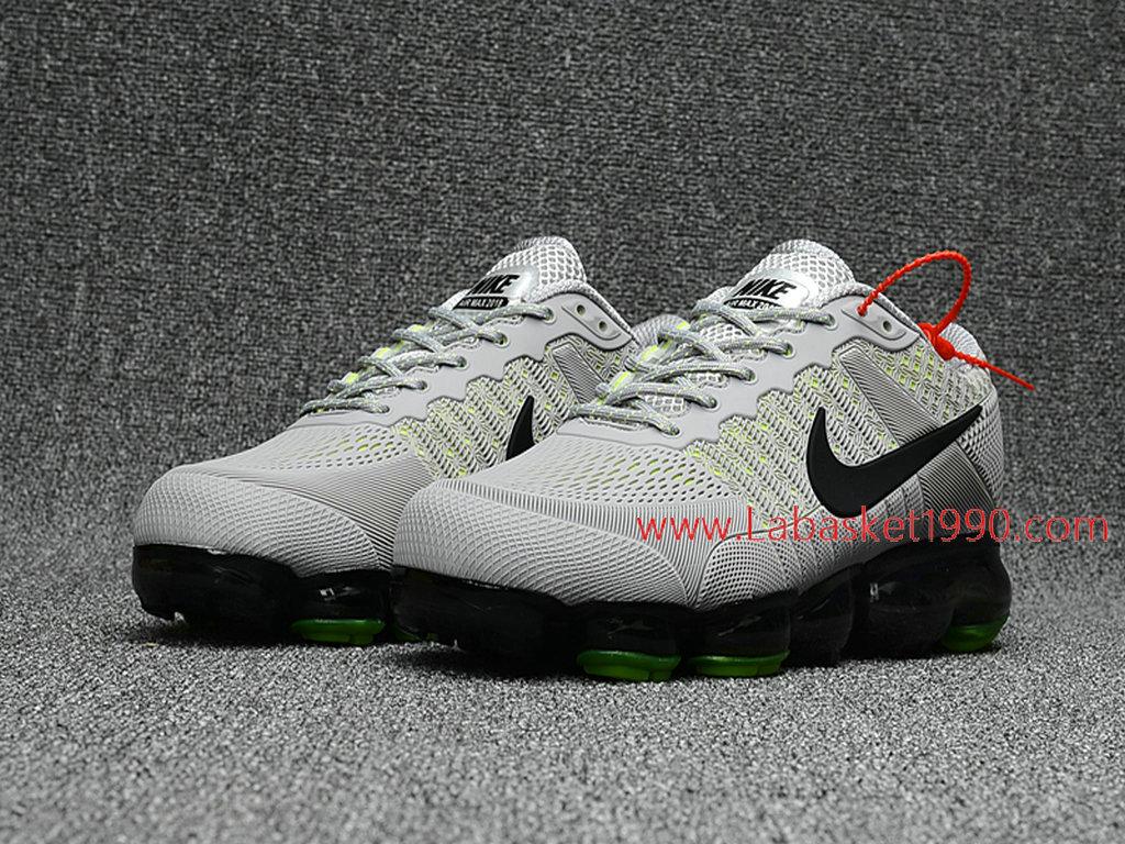 low priced cbc66 e5595 ... sale officiel nike air max 2018 chaussures nike vapormax pas cher pour  homme gris noir 3865b