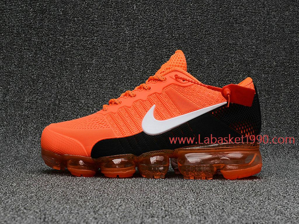 the best attitude 10b22 ca795 Officiel Nike Air Max 2018 Chaussures Nike VaporMax Pas Cher Pour Homme  Orange Noir ...